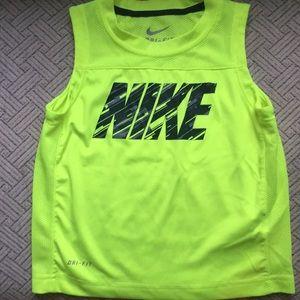 Nike small mesh toddler sleeveless dri-fit